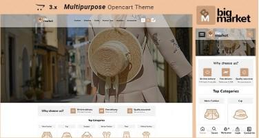 Bigmarket2 - Fashion Responsive Multipurpose Opencart 3.x